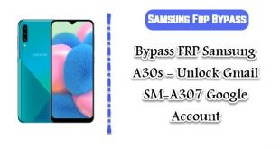 SAMSUNG Galaxy A30s FRP Google Account Bypass