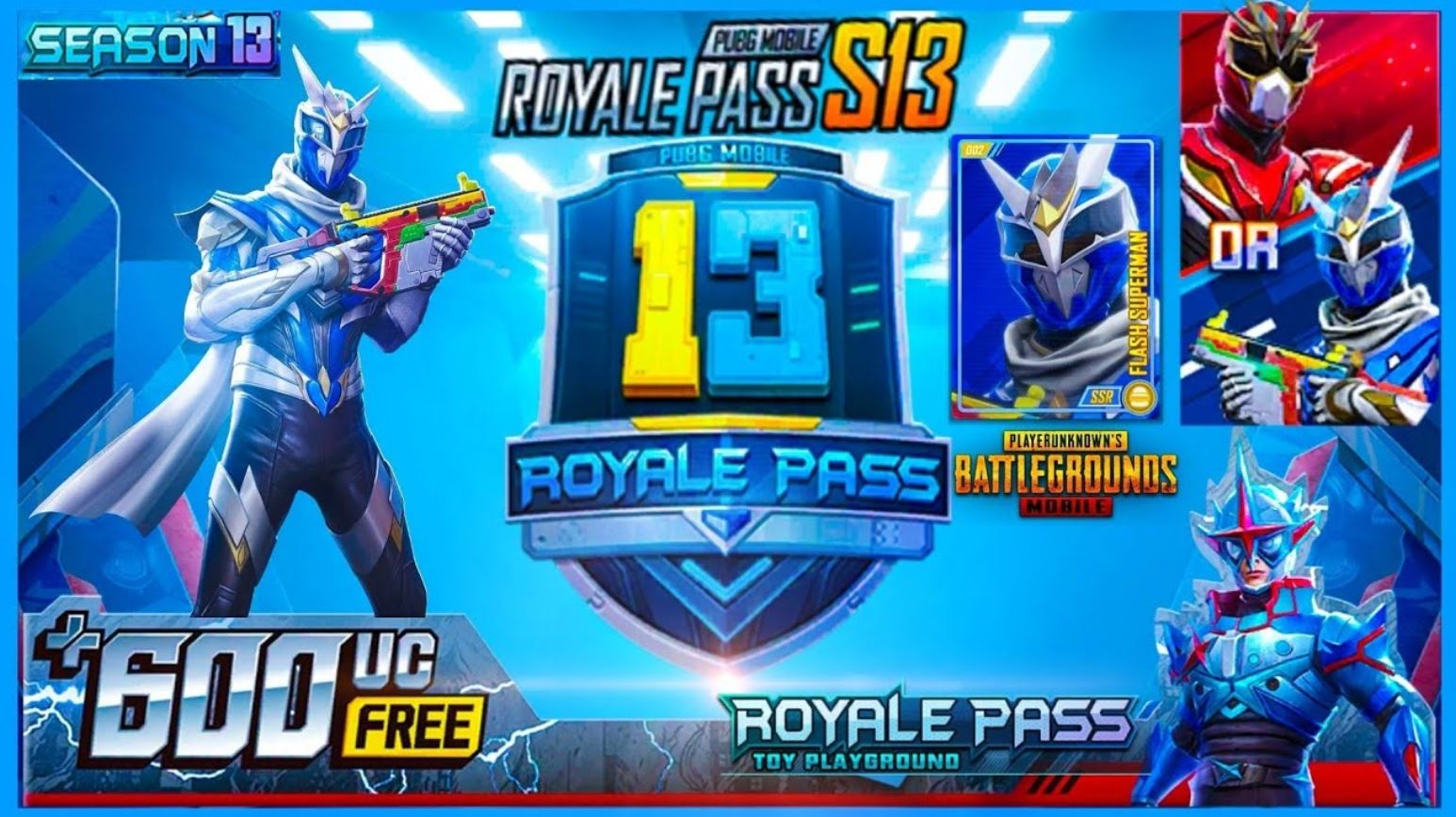 Get Free Pubg Mobile Season 13 Royal Pass !